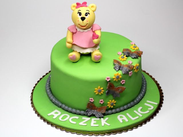 1st Birthday Cake For Girl Dartford Cakes Pinterest Birthday