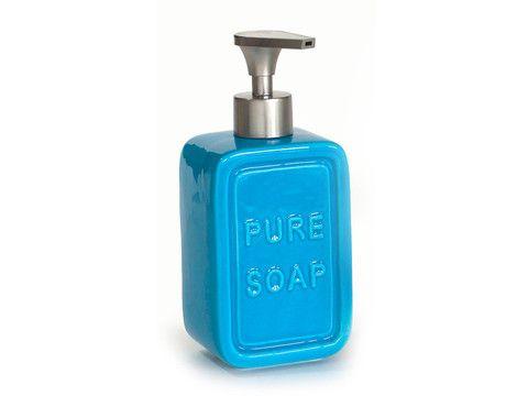 Pure Soap Rectangle Dispenser in Blue Bathroom Redo Pinterest