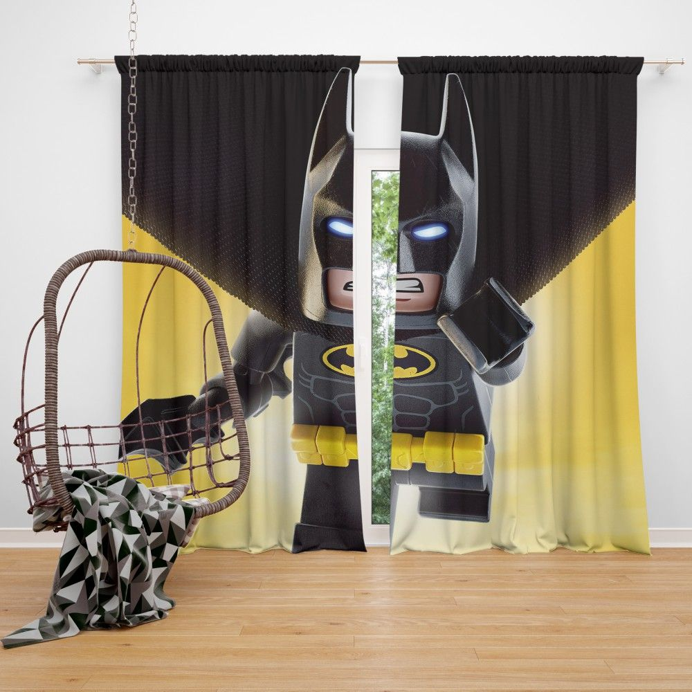 Dc Comics Batman Logo Curtain Super Heroes Bedding Batman
