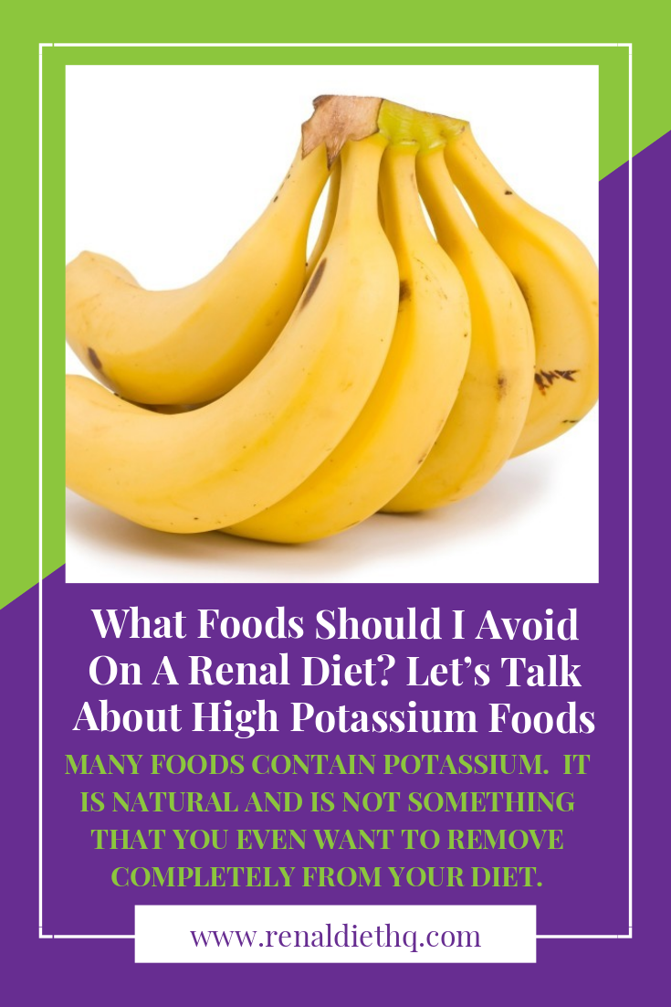 There Are Many Misconceptions Out There About What Foods Are High In Potassium And How To Control Yo High Potassium Foods Kidney Friendly Foods Potassium Foods