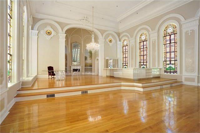 Apartment built out of an old chapel, top floor of an old orphanage in New Orleans