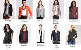 tipos de lapela para um blazer feminino - Cerca con Google