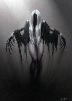 dark horror gothic angel - photo #36