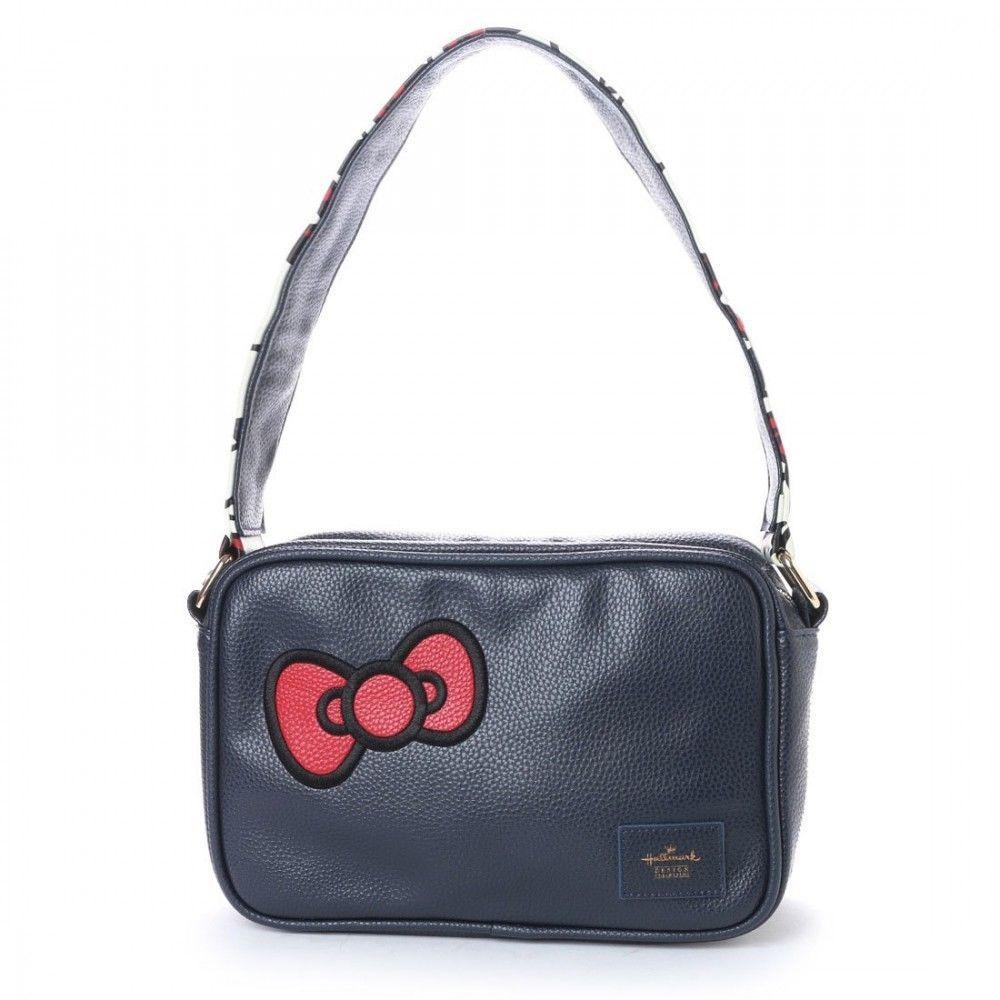 2621ea8601cb Hello Kitty Hallmark Shoulder Bag Tote Handbag Purse Sanrio from Japan  L2202