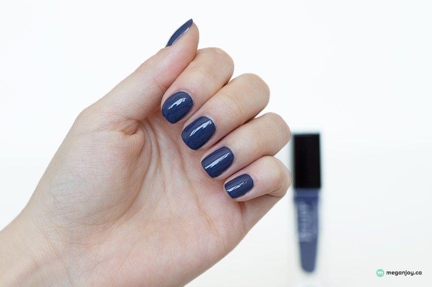 Julep polish Millie. Dark indigo blue nail polish. | Nail Art ...