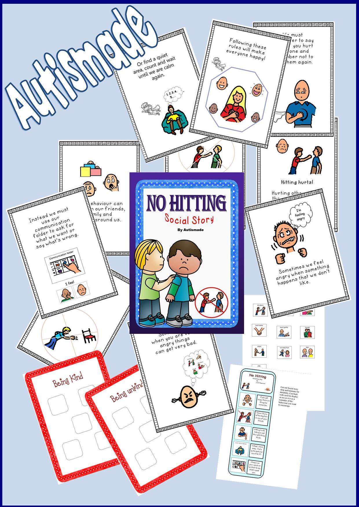 no hitting social story pdf