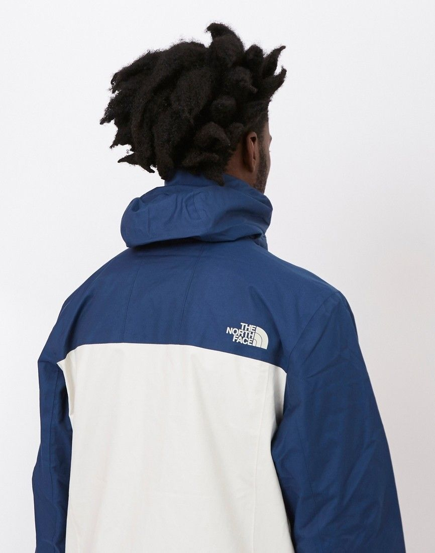 The North Face Black Label 1990 Mountain Jacket Blue At The Idle Man Black North Face Mountain Jacket The Idle Man [ 1100 x 866 Pixel ]
