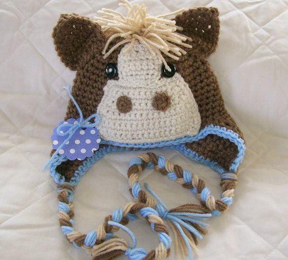 Crochet Pony Hat,Baby Pony Hat,Blue Pony Hat,Toddler Pony Hat, Newborn Pony Hat #crochetpony Crochet Pony Hat,Baby Pony Hat,Blue Pony Hat,Toddler Pony Hat, Newborn Pony Hat,... - #Crochet #Hat #HatBaby #HatBlue #HatToddler #Newborn #PONY #crochetpony