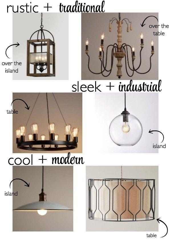 Modern Over Table Lighting