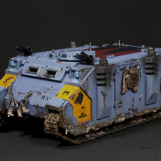 Showcase: Space Wolves Army I have been painting Space Wolves on and off since I started this hobby back in 1993.  Unfortunately I sold my set of Space Wolves around 20 years ago, and didn't …