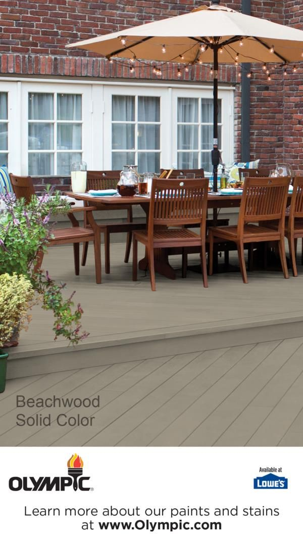 Beachwood   Olympics, Decking and Deck colors