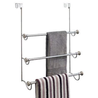 Interdesign York Over The Door Towel Rack Towel Rack Shower