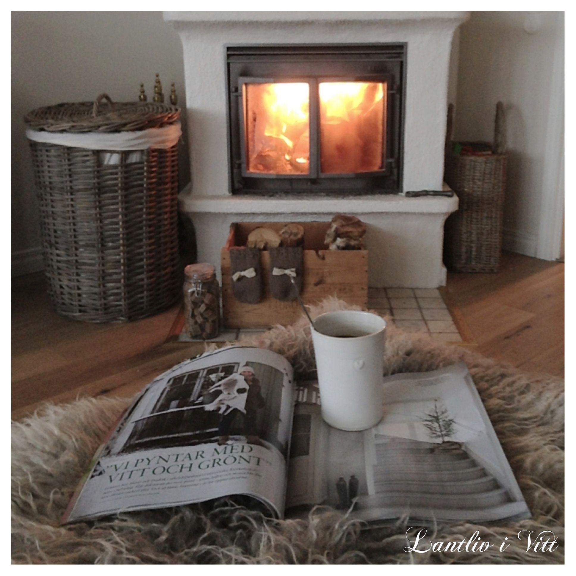 Inspiratie voor een gezellige en knusse woonkamer met openhaard ...