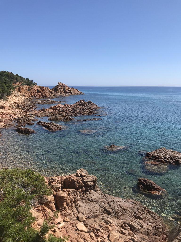 Urlaub Auf Sardinien Bari Sardo Curious Reflections