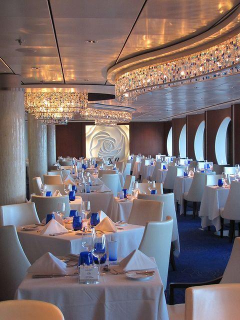Celebrity Cruises Eclipse Blu Restaurant for Aqua Class ...