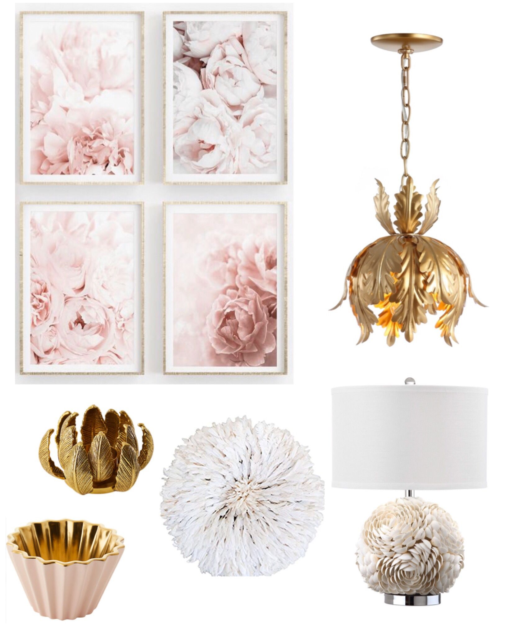 Pink home decor for the bedroom, office,living room or family room. #masterbathroom #masterbedroomideas #homedecor #homedecorideas #peonies #bedroom #bedroomdecor #jujuhat #candles #lighting #livingroom #livingroomdecor