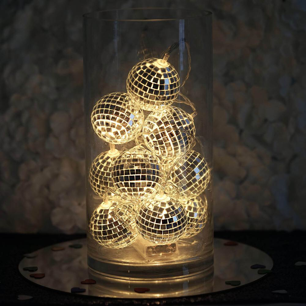 Home Mirror Ball Disco Party Decorations Disco Theme