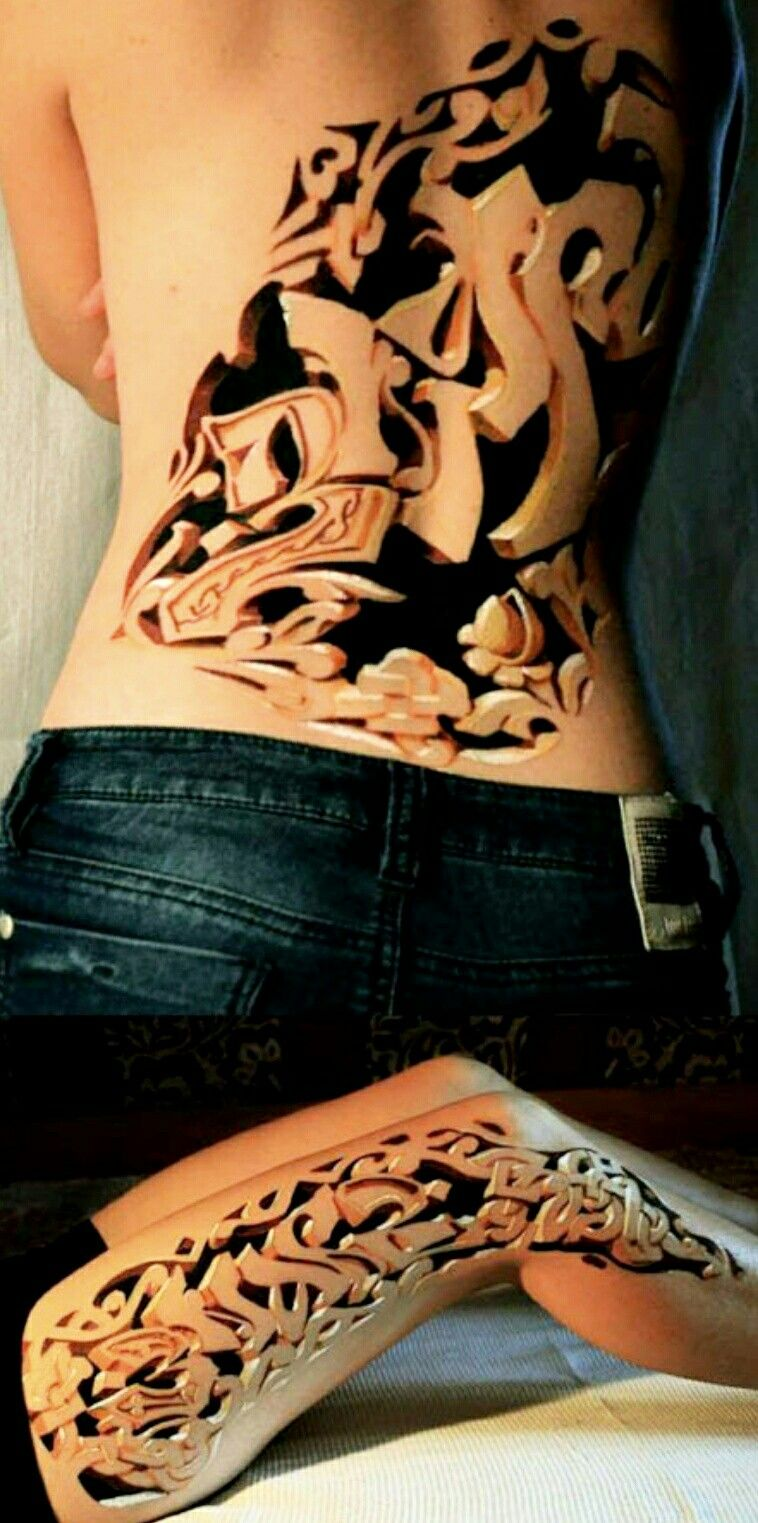 Cool tattoo designs for back pin by Сергей Викторович on Татуировки  pinterest