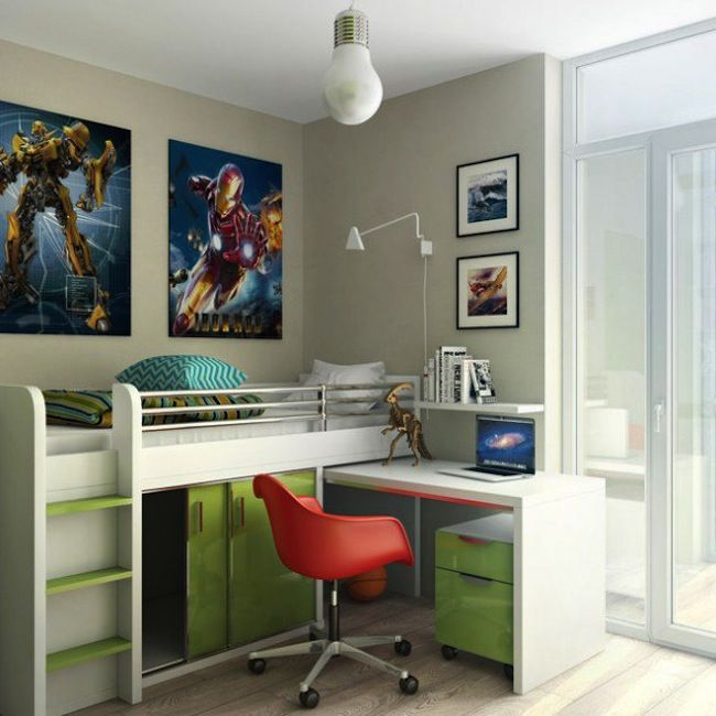 15 Amazing Ideas To Decorate Your Bedroom: 15 Amazing Space Saving Designs For Your Kids Bedrooms