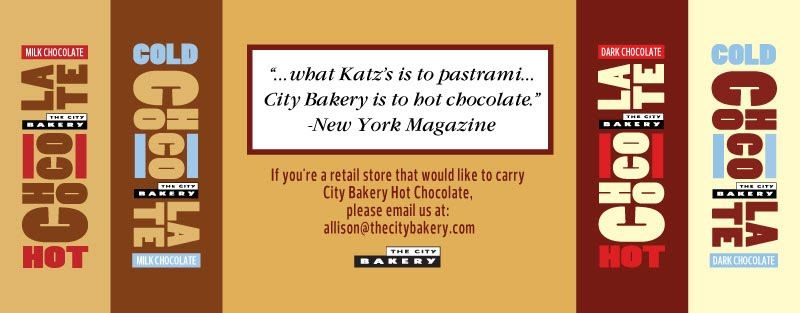 Hot Chocolate Festival - The City Bakery