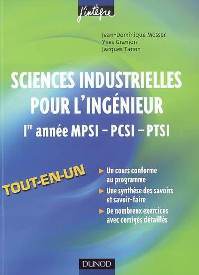 Edition 2008 Cet Ouvrage Couvre Tout Le Programme Des Sciences De L Ingenieur En Conformite Avec La Reforme De 2 Science Machine Learning Nanotechnology