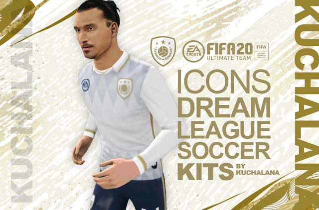 FIFA 20 FUT Icons Kits Dream League Soccer en 2020