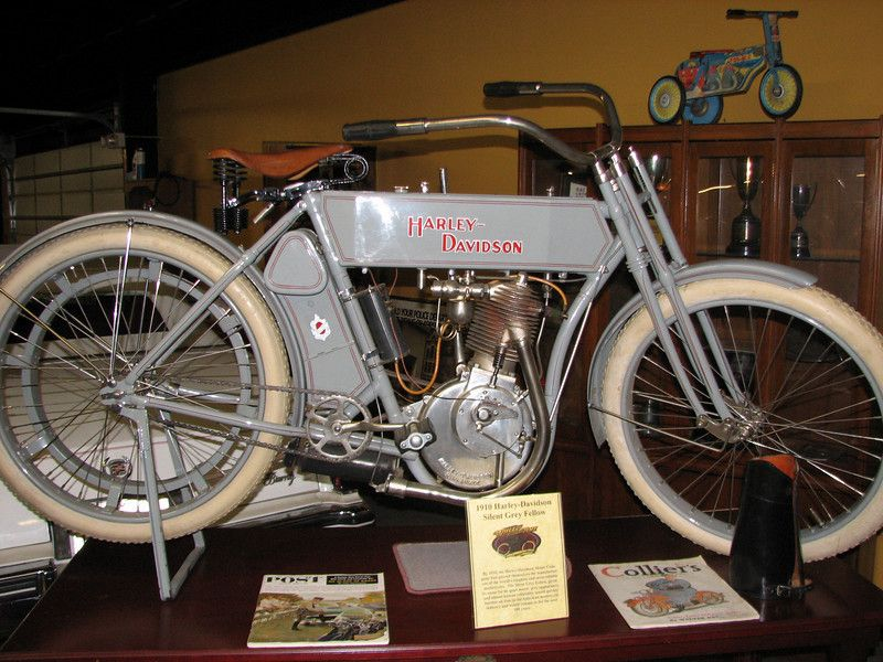 1910 - Silent Grey Fellow In order to save money Harley bought from ...