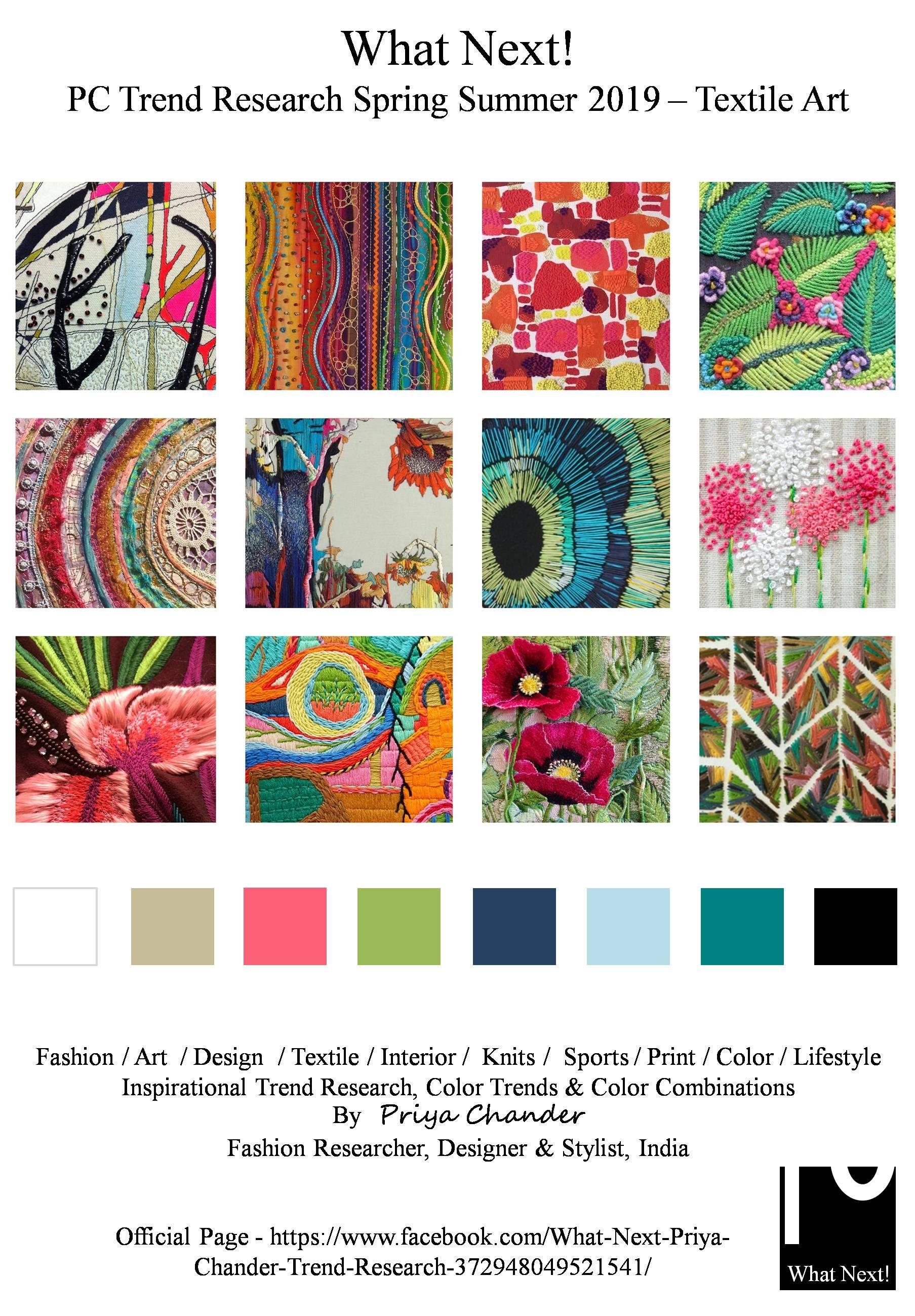 #Textileart #textiles #SS19 #priyachander #IndianTextiles ...