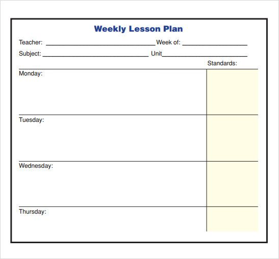 Plan Template In Pdf The Best Seating Plan Template Ideas On - Blank lesson plan template pdf