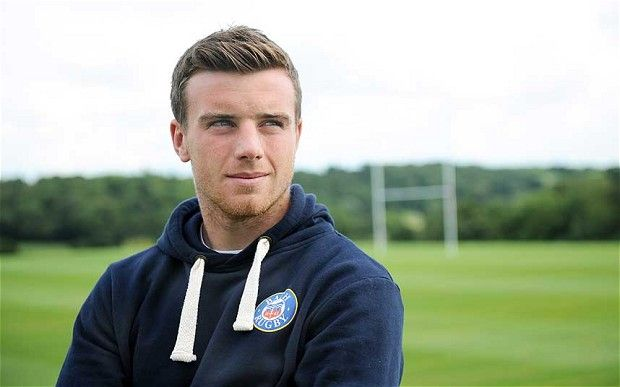 Maybe GEORGE FORD, PLEASE!  GOSH, rugby was never so attractive!