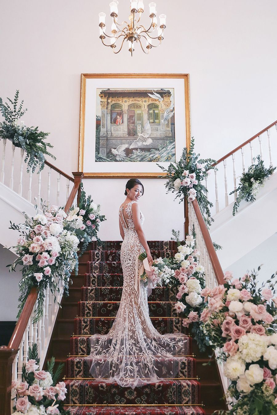 Love bonitous rachel lim and leonard leeus singapore wedding at
