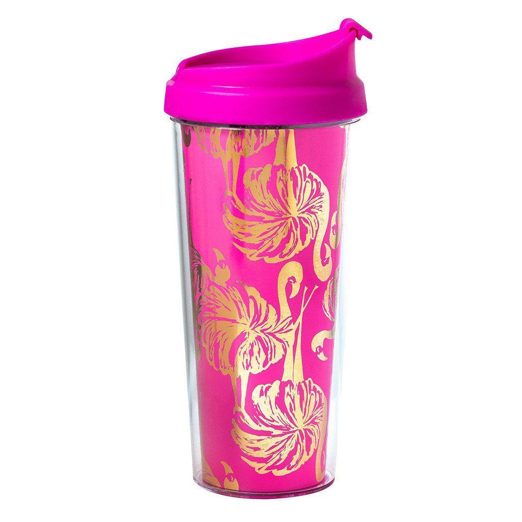 Lilly pulitzer gimme some leg thermal mug mugs