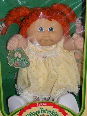 For Sale Vintage 1984 Cabbage Patch Kid New In Box All P Vintage Cabbage Patch Dolls Cabbage Patch Kids Dolls Cabbage Patch Dolls