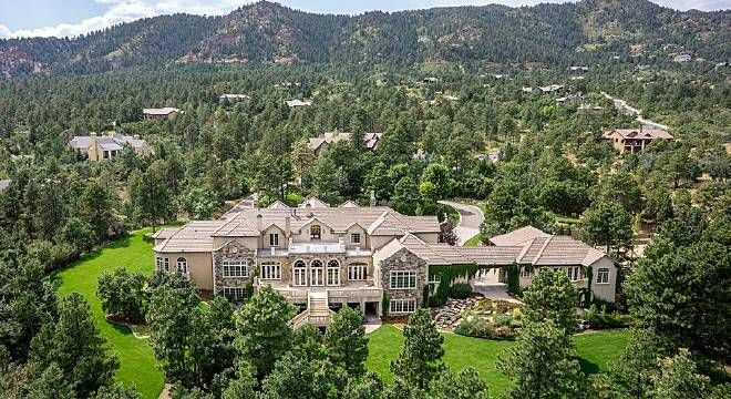 10 Most Expensive Homes In El Paso County Neat House Mansions