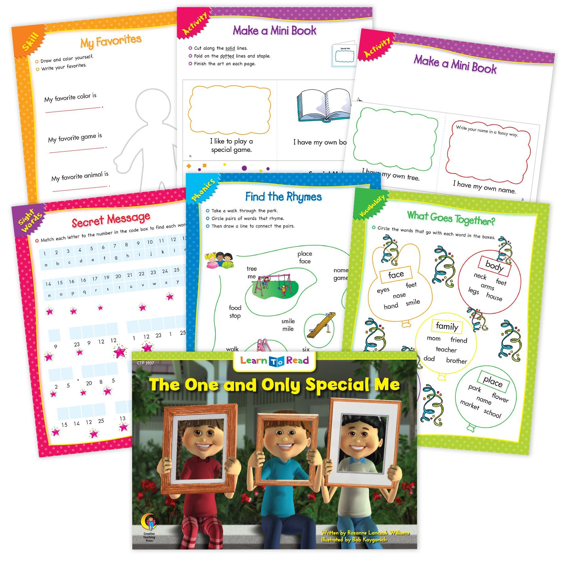 The One And Only Special Me Ebook Amp Worksheets In