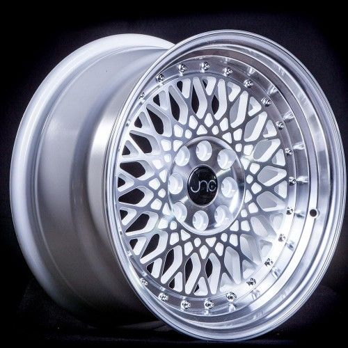 Jnc 031 Silver Machined Face 17x9 4x100 4x114 3 Et30 Offset Wheel Rim Wheel Rims Wheel Mini Cooper Accessories