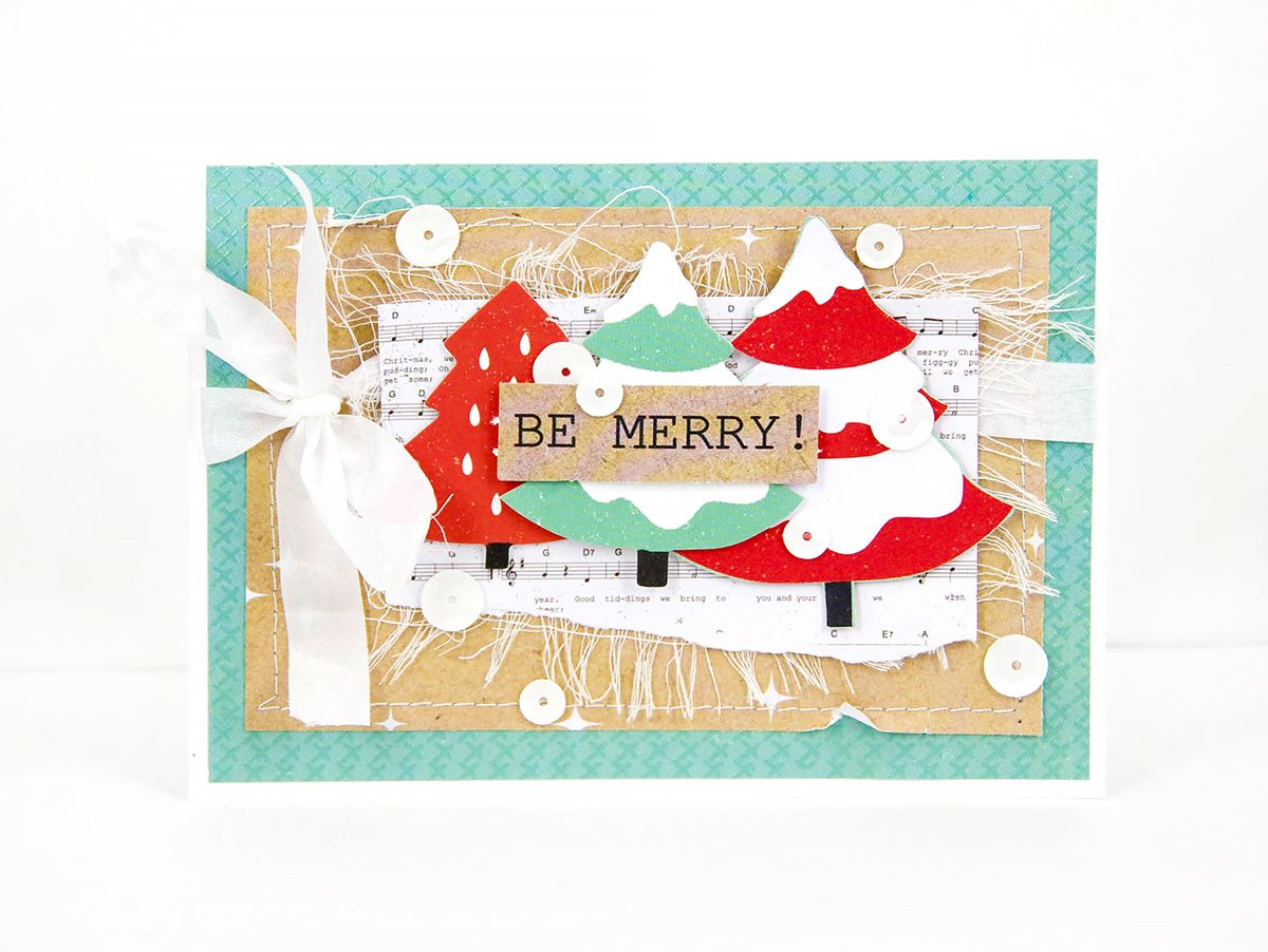Holly Jolly Card By Alena Grinchuk My Favorite Christmas Cards