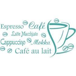 Photo of Wandtattoo Espresso, Café, CappuccinoWayfair.de