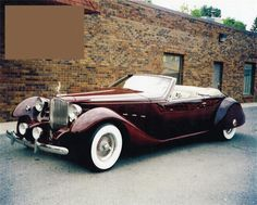 1934 PACKARD BAYLIFF CUSTOM CONVERTIBLE –  – Barrett-Jackson Auction Company – World's Greatest Collector Car Auctions