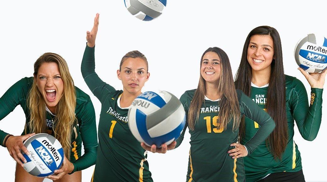 2015 Volleyball Seniors Ncaa Volleyball News University Of San Francisco Volleyball University