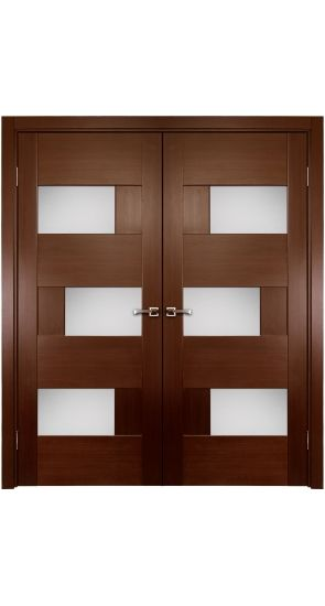 Dominika W Glass Double Interior Door