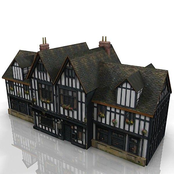 Minecraft Tudor House Google Search House Styles House Tudor House