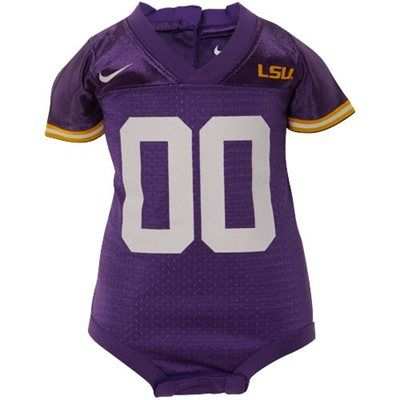 finest selection 23718 597ed Nike LSU Tigers Purple Infant Replica Football Jersey ...