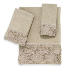 Avanti Mademoiselle Linen Bath Towels Bed Bath Beyond Guest
