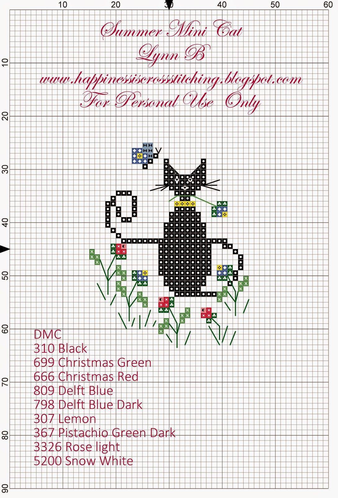 Free Mother's Day Cross Stitch Pattern and stitching