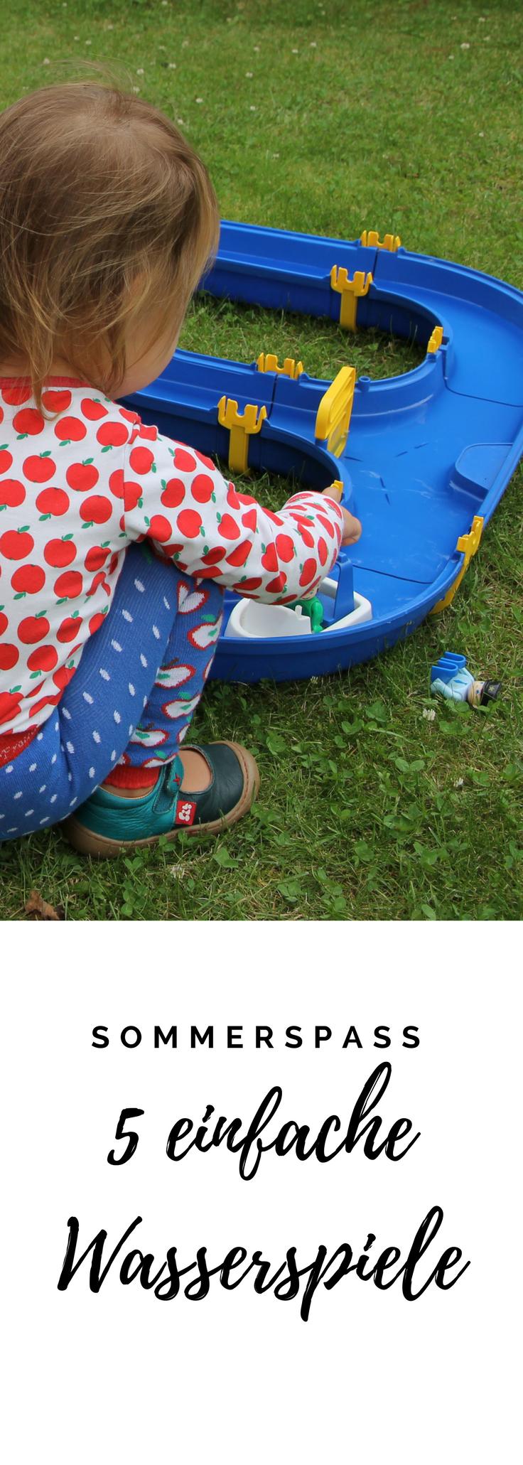 5 Ideen Fur Spiele Mit Wasser Im Garten Spiele Mit Wasser Wasserspiele Kinder Kinder Spiele Draussen
