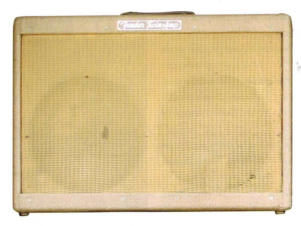 Keith Richards 1957 Fender Twin Amp Serial Number A0003high Powered