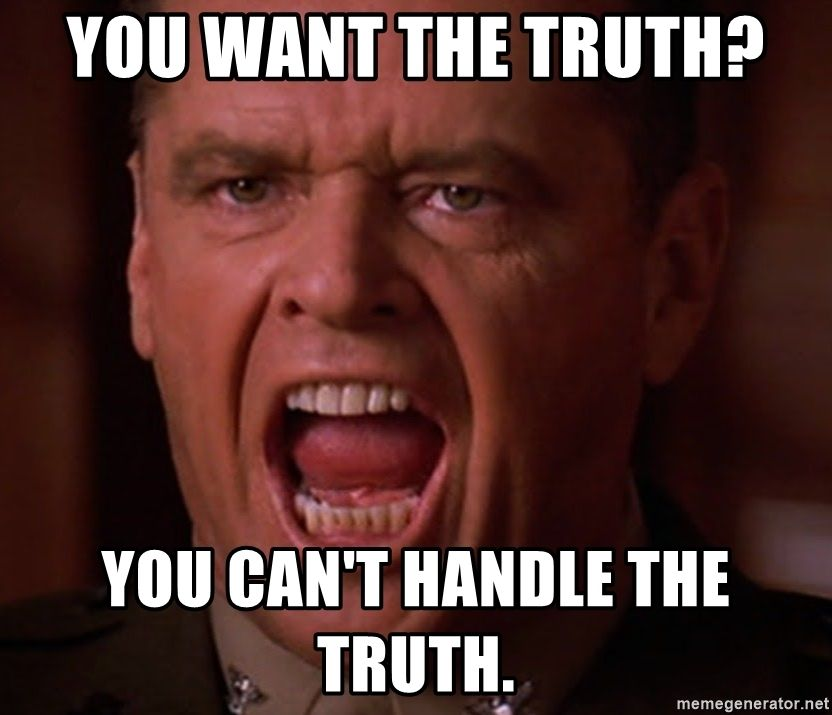 Image result for jack nicholson you can't handle the truth