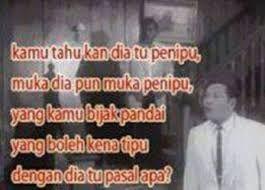 Image result for p ramlee dah tau penipu yg ko kena tipu (With ...
