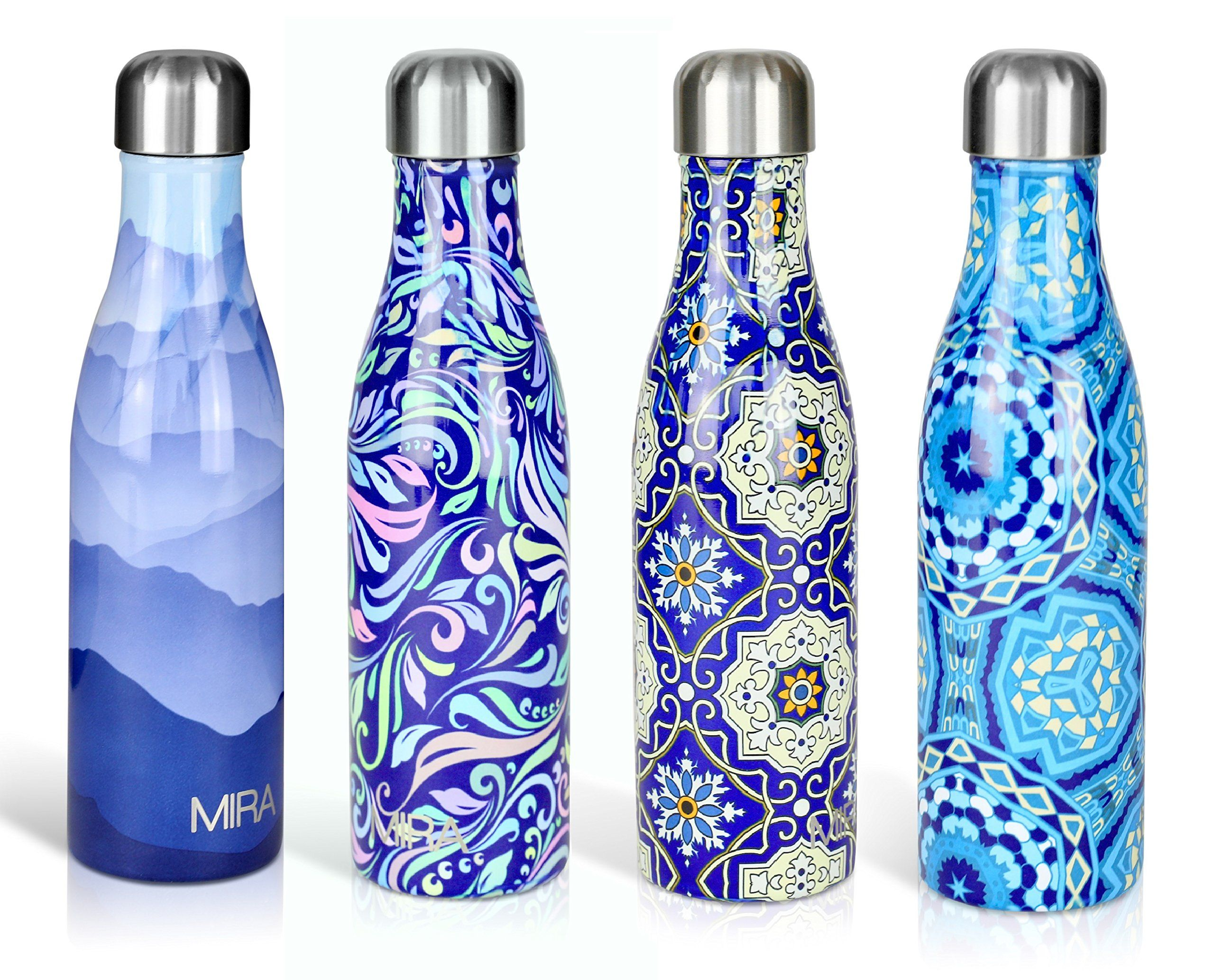 Vacuum Insulated Water Bottle 500ml Cola Stainless Steel Double Walled Shape